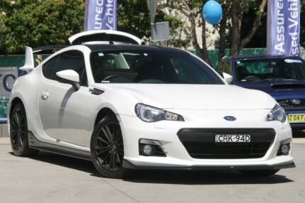 2013 Subaru BRZ MY14 White 6 Speed Manual Coupe Rosebery Inner Sydney Preview