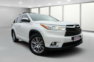 2014 Toyota Kluger GSU55R Grande (4x4) Crystal Pearl 6 Speed Automatic Wagon Dalby Dalby Area Preview