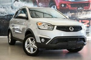 2015 Ssangyong Korando C200 MY15 SX 2WD Silent Silver 6 Speed Automatic Wagon Hillman Rockingham Area Preview