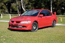 2004 Mitsubishi Lancer Evolution VIII Red Manual Sedan Slacks Creek Logan Area Preview