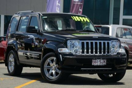 2010 Jeep Cherokee KK MY10 Limited Black 4 Speed Automatic Wagon