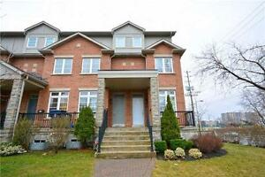 Stunning & Modern Freehold Townhome In Desirable Etobicoke Area.