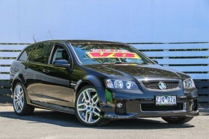 2012 Holden Commodore VE II MY12.5 SS Sportwagon Z Series Black 6 Speed Sports Automatic Wagon Ringwood East Maroondah Area Preview