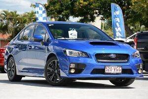 2014 Subaru WRX V1 MY15 Premium Lineartronic AWD Blue 8 Speed Constant Variable Sedan Toowong Brisbane North West Preview