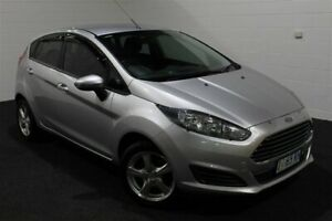 2014 Ford Fiesta WZ Ambiente Silver 5 Speed Manual Hatchback Glenorchy Glenorchy Area Preview