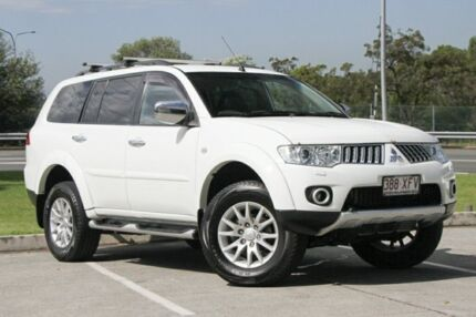 2010 Mitsubishi Challenger PB (KH) MY10 XLS White 5 Speed Sports Automatic Wagon Springwood Logan Area Preview