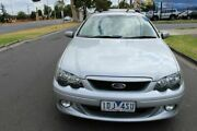 2004 Ford Falcon BA Mk II XR6 Turbo Silver 4 Speed Sports Automatic Sedan West Footscray Maribyrnong Area Preview