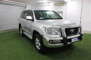 2011 Toyota Landcruiser VDJ200R MY10 Altitude Silver 6 Speed Sports Automatic Wagon Moonah Glenorchy Area Preview