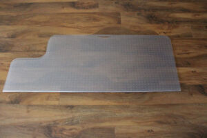 Carpet/Hard wood protection mat for ergonomic chairs