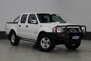 2011 Nissan Navara D22 MY08 ST-R (4x4) White 5 Speed Manual Dual Cab Pick-up Bentley Canning Area Preview