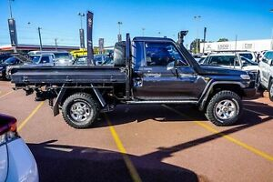 2012 Toyota Landcruiser VDJ79R MY10 GXL Grey 5 Speed Manual Cab Chassis Westminster Stirling Area Preview