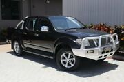2008 Nissan Navara D40 ST-X Black 5 Speed Automatic Utility Bungalow Cairns City Preview