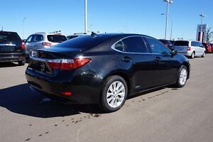 2014 Lexus ES 300h HYBRID Navigation (GPS),  Leather,  Sunroof,  Edmonton Edmonton Area image 3