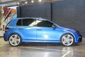 2011 Volkswagen Golf VI MY11 R DSG 4MOTION Blue 6 Speed Sports Automatic Dual Clutch Hatchback