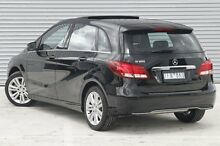 2015 Mercedes-Benz B180  Black Sports Automatic Dual Clutch Hatchback Ringwood East Maroondah Area Preview