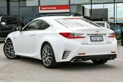 2015 Lexus RC White Sports Automatic Coupe Welshpool Canning Area Preview