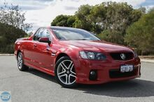 2011 Holden Commodore VE II SV6 Red 6 Speed Manual Utility Hillman Rockingham Area Preview