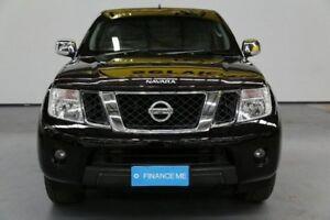 2012 Nissan Navara D40 S5 MY12 ST-X 550 Black 7 Speed Sports Automatic Utility