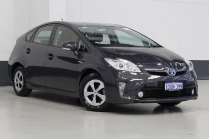 2012 Toyota Prius ZVW30R MY12 Hybrid Blue Continuous Variable Hatchback