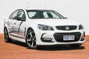 2016 Holden Commodore VF II MY16 SV6 Black White 6 Speed Sports Automatic Sedan Rockingham Rockingham Area Preview