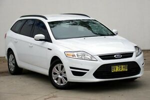 2013 Ford Mondeo MC LX PwrShift TDCi White 6 Speed Sports Automatic Dual Clutch Wagon Blacktown Blacktown Area Preview