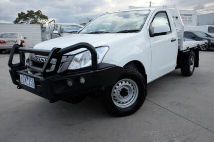 2015 Isuzu D-MAX MY15 SX 4x2 White 5 Speed Manual Cab Chassis Dandenong Greater Dandenong Preview