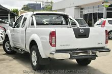 2013 Nissan Navara D40 S6 MY12 ST-X King Cab White 5 Speed Automatic Utility Cannington Canning Area Preview