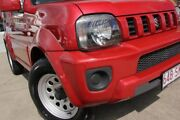 2012 Suzuki Jimny SN413 T6 Sierra Red 5 Speed Manual Hardtop Kippa-ring Redcliffe Area Preview