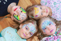 Birthday Face Painting, Princess, Clown, Balloons, Magician