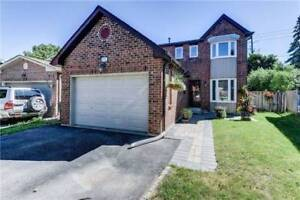 Absolutely Stunning Fully Single Detached 3 Bedroom Home