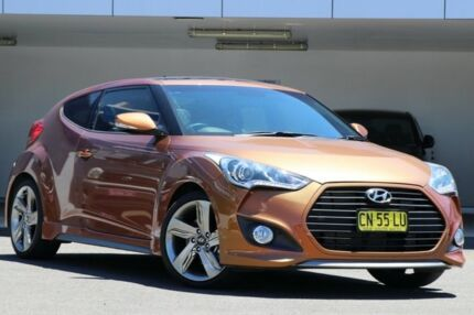 2012 Hyundai Veloster FS MY13 SR Turbo Gold 6 Speed Manual Coupe
