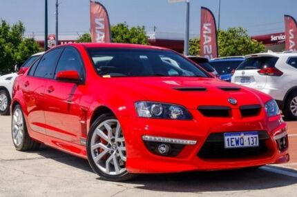 2009 Holden Special Vehicles Clubsport E Series 2 R8 Red 6 Speed Manual Sedan Victoria Park Victoria Park Area Preview
