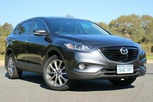 2015 Mazda CX-9 TB10A5 Luxury Activematic AWD Grey 6 Speed Sports Automatic Wagon Wilson Canning Area Preview