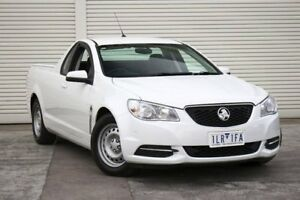 2016 Holden Ute VF II MY16 Ute White 6 Speed Sports Automatic Utility