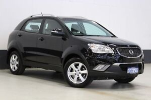 2011 Ssangyong Korando C200 SX Black 6 Speed Automatic Wagon Bentley Canning Area Preview