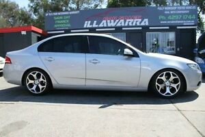 2008 Ford Falcon FG XT Silver Auto Sports Mode Sedan Barrack Heights Shellharbour Area Preview