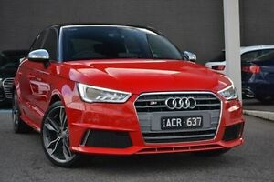 2014 Audi S1 8X MY15 Sportback Quattro Red 6 Speed Manual Hatchback Burwood Whitehorse Area Preview