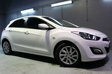 2013 Hyundai i30 GD Active White 6 Speed Manual Hatchback Launceston Launceston Area Preview