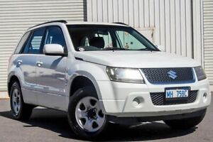 2009 Suzuki Grand Vitara JB MY09 White 4 Speed Automatic Wagon Osborne Park Stirling Area Preview
