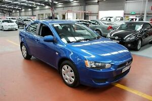 2009 Mitsubishi Lancer CJ MY09 ES Blue 5 Speed Manual Sedan Maryville Newcastle Area Preview