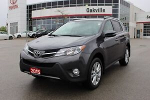 2015 Toyota RAV4 Limited w/Navigation, Backup Camera &