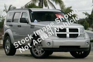 2009 Dodge Nitro KA MY09 SXT Silver 4 Speed Automatic Wagon Minchinbury Blacktown Area Preview