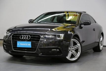 2012 Audi A5 8T MY12 Multitronic Grey 8 Speed Constant Variable Coupe