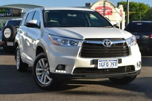 2016 Toyota Kluger GSU50R GX 2WD Crystal Pearl 6 Speed Sports Automatic Wagon Claremont Nedlands Area Preview