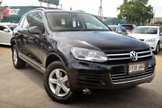 2011 Volkswagen Touareg 7P MY11 150TDI Tiptronic 4MOTION Black 8 Speed Sports Automatic Wagon Hillcrest Port Adelaide Area Preview