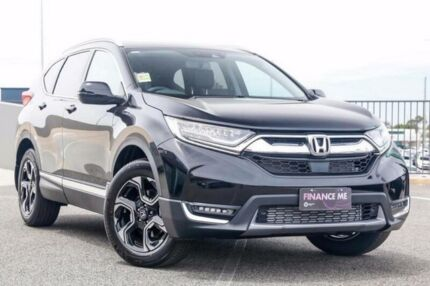 2017 Honda CR-V MY18 VTI-LX (awd) Crystal Black Continuous Variable Wagon