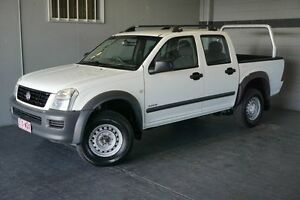 2005 Holden Rodeo RA LX White 5 Speed Manual Crew Cab P/Up Woodridge Logan Area Preview