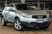 2011 Nissan Dualis J10 Series II MY2010 ST Hatch X-tronic Silver 6 Speed Constant Variable Hatchback Willagee Melville Area Preview