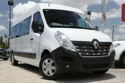 2017 Renault Master X62 Mid Roof LWB AMT White Bus Kedron Brisbane North East Preview