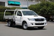 2013 Toyota Hilux KUN16R MY14 SR 4x2 Glacier 5 Speed Manual Cab Chassis Acacia Ridge Brisbane South West Preview